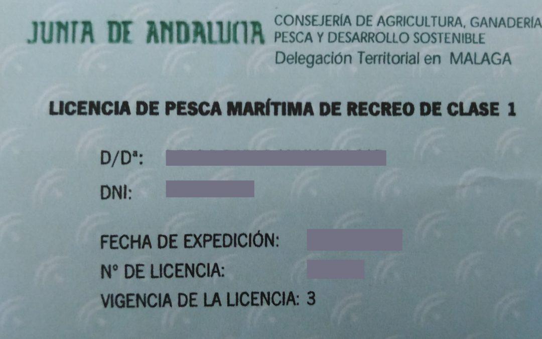 Licencia de pesca – Renovación
